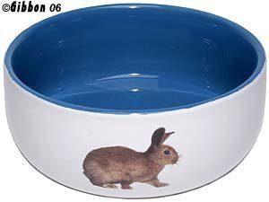 Keraaminen Kulho Kani Valkoinen / Sininen 11