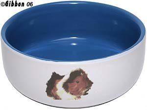 Keraaminen Kulho Marsu Valkoinen / Sininen 10 Cm