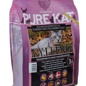 Kingsmoor Pure Steriloitu Kissa 3 Kg