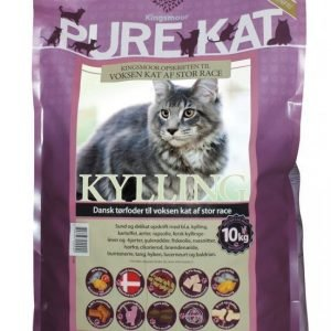 Kingsmoor Pure Suuret Kissarodut 10 Kg
