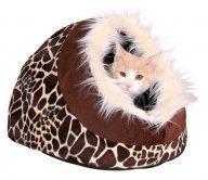 Kissanpeti Minou iglu kirahvikuvio