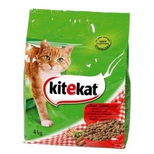 Kitekat Kissanruoka 4kg Häränliha-Kasvis