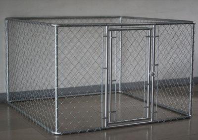 Koira-Aitaus Metalli 180x180x120 Cm
