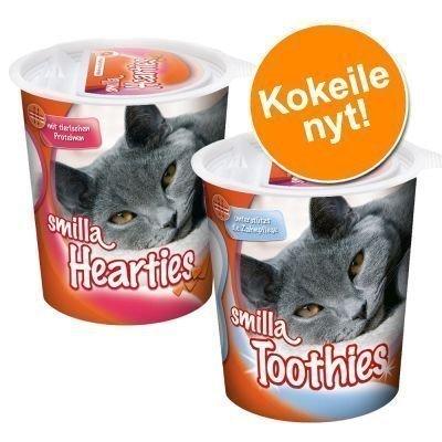 Kokeilupakkaus: Smilla Hearties & Smilla Toothies - 2 x 125 g