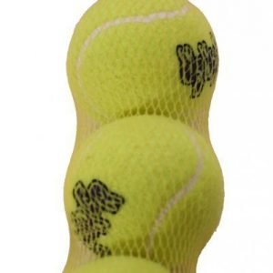 Kong Air Squeaker Tennispallo Medium 3 Kpl Pakkaus
