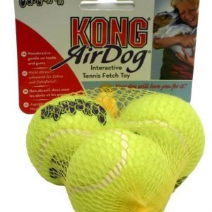 Kong Air Squeaker Tennispallo Small 3 Kpl Pakkaus