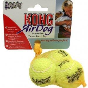Kong Air Squeaker Tennispallo Xs 3 Kpl Pakkaus