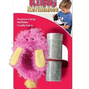 Kong Cat Refillables Fuzzy Slipper