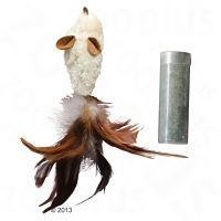 Kong Feather Mouse - 1 kpl