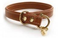 Kuristava nahkapanta Hurtta Leather Classics