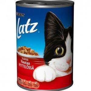 Latz Kissanruoka 400g Nautaa Hyytelössä