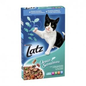 Latz Kissanruoka 400g Seaside Sensations Kala