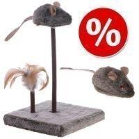 Lelusetti: Wild Mouse äänellä ja LED-valolla - 2-osainen setti