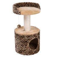 Leo-raapimispuu - leopardikuosi / beige