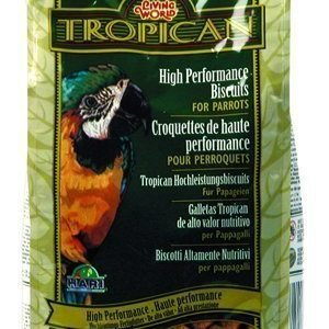 Living World Tropican High Performance Biscuits Papukaija 680 G