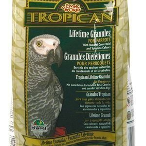 Living World Tropican Lifetime Granules Papukaija 820 G