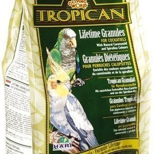 Living World Tropican Lifetime Granules Undulaatti 9 Kg