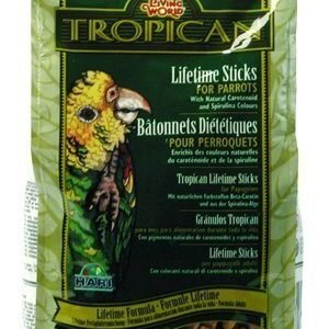 Living World Tropican Lifetime Sticks Papukaija 9 Kg
