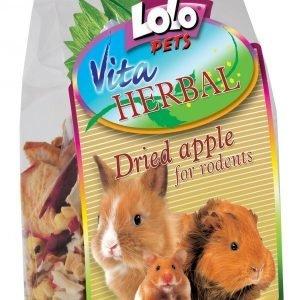 Lolo Pets Vita Herbal Kuivattu Omena 100 G