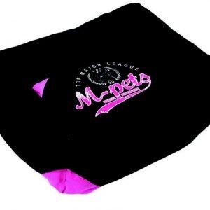 M-Pets London Koiranpeti Musta / Pinkki