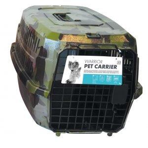 M-Pets Warrior 2 Ovinen Kuljetuslaatikko Lemmikille