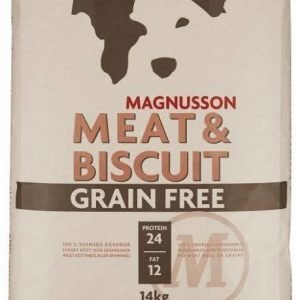Magnusson Dog Adult Grain Free Meat & Biscuit 14kg