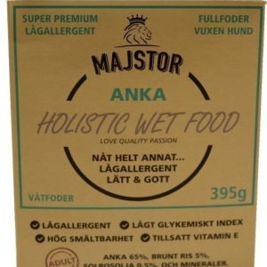 Majstor Dog Adult Holistic Wet Food Anka Tray 10x395g