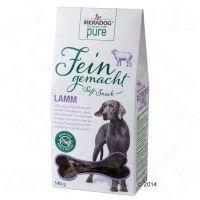 Meradog Pure Fein Gemacht Soft Snack - säästöpakkaus: lammas 2 x 140 g