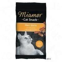 Miamor Cat Confect Mini-Sticks - 3 x lohi & taimen