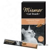 Miamor Cat Confect -maksamakkaratahna - 6 x 15 g