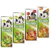 Mixed Pack Versele Laga Crispy Sticks Herbivores - 4 x 2 kpl (440 g)