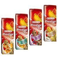 Mixed Pack Versele Laga Prestige Sticks kanarialinnuille - 4 x 2 kpl (240 g)