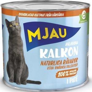 Mjau Paté Med Kalkon 12x635g