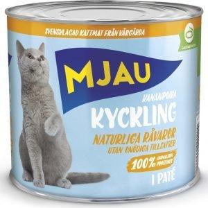 Mjau Paté Med Kyckling 12x635g