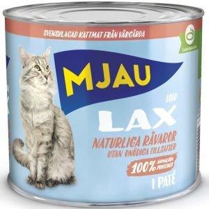 Mjau Paté Med Lax 12x635g