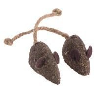 Natural Catnip Mouse - 2 kpl