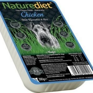 Naturediet Chicken 18x390 Gram