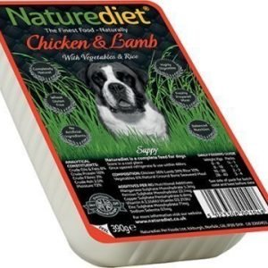 Naturediet Chicken & Lamb 18x390 Gram