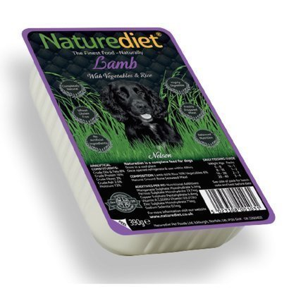 Naturediet Lamb 18x390 Gram