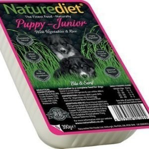 Naturediet Puppy & Junior 18x390 Gram