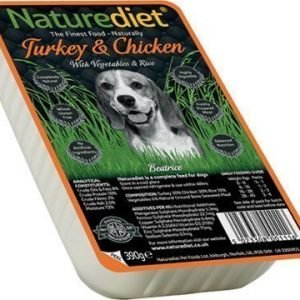 Naturediet Turkey & Chicken 18x390 Gram