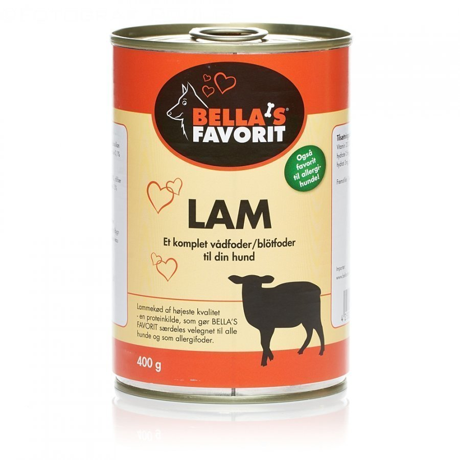 Nature's Peak Bellas Favorit Dog Lamb 6x400g