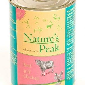 Nature's Peak Bellas Favorit Feline Beef & Chicken 6x400g