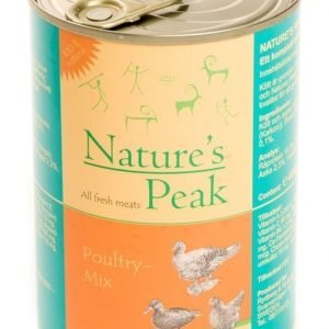Nature's Peak Bellas Favorit Feline Poultry Mix 6x400g