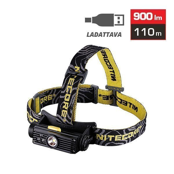 Nitecore Hc90 Otsalamppu 900 Lm