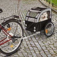 No Limit Doggy Liner 2 -peräkärry polkupyörään - koukku toiselle polkupyörälle