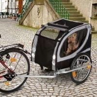 No Limit Doggy Liner Paris de Luxe -peräkärry polkupyörään - P 148 x L 90 x K 88 cm