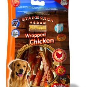 Nobby Starsnack Chicken Wrapped 113g Small