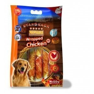 Nobby Starsnack Chicken Wrapped M 150g / 13cm
