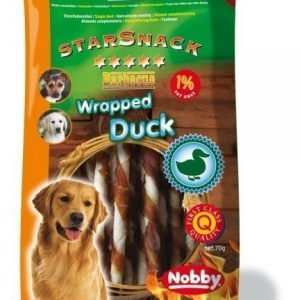 Nobby Starsnack Duck Wrapped 70g